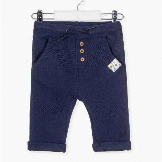 Παντελόνι φούτερ μπλε Losan AA3078