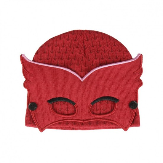 Σκουφί Owlette Pj Masks με μάσκα ΣΚ279