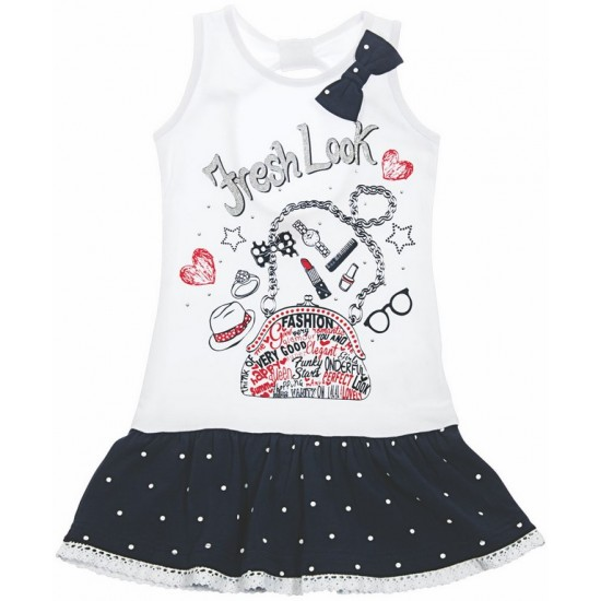Φόρεμα μακό πουά Funky ΚΚ1543