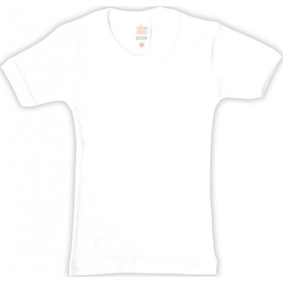 Φανελάκι κοντομάνικο λευκό Nina Club ΕΣ182