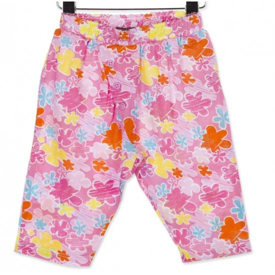 Παντελόνα με λουλούδια Losan ΚΚ2303