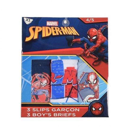 Σετ 3 βρακάκια Spiderman ΕΣ153